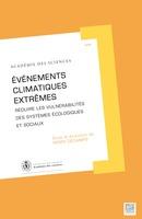 Evènements climatiques extrêmes