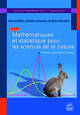 Mathématiques et statistique pour les sciences de la nature From Gérard Biau, Jérôme Droniou and Marc Herzlich - EDP Sciences