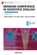 Minimum competence in scientific English De Sue Blattes, Véronique Jans et Jonathan Upjohn - EDP Sciences
