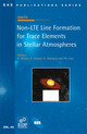 Non-LTE Line Formation for Trace Elements in Stellar Atmospheres  - EDP Sciences