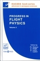 Progress in flight physics  - EDP Sciences