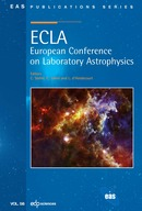 ECLA: European Conference on Laboratory Astrophysics  - EDP Sciences