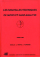 Nouvelles techniques de micro et nano-analyse From J.F. Bresse and Jacky Ruste - GN-MEBA