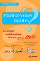 Parlez-vous maths ? From Agnès Rigny and Pierre López - EDP Sciences