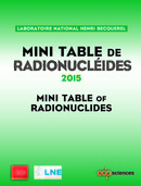 Mini Table de radionucléides 2015 De  Laboratoire National Henri Becquerel - EDP Sciences