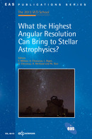 What the Highest Angular Resolution Can Bring to Stellar Astrophysics?  - EDP Sciences