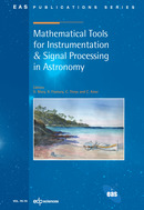 Mathematical Tools for Instrumentation & Signal Processing in Astronomy From D.  Mary, R. Flamary, C. Theys and C. Aime - EDP Sciences