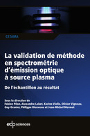 La validation de méthode en spectrométrie d'émission optique à source plasma  - EDP Sciences
