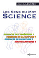 Les sens du mot Science De Jean Lilensten - EDP Sciences
