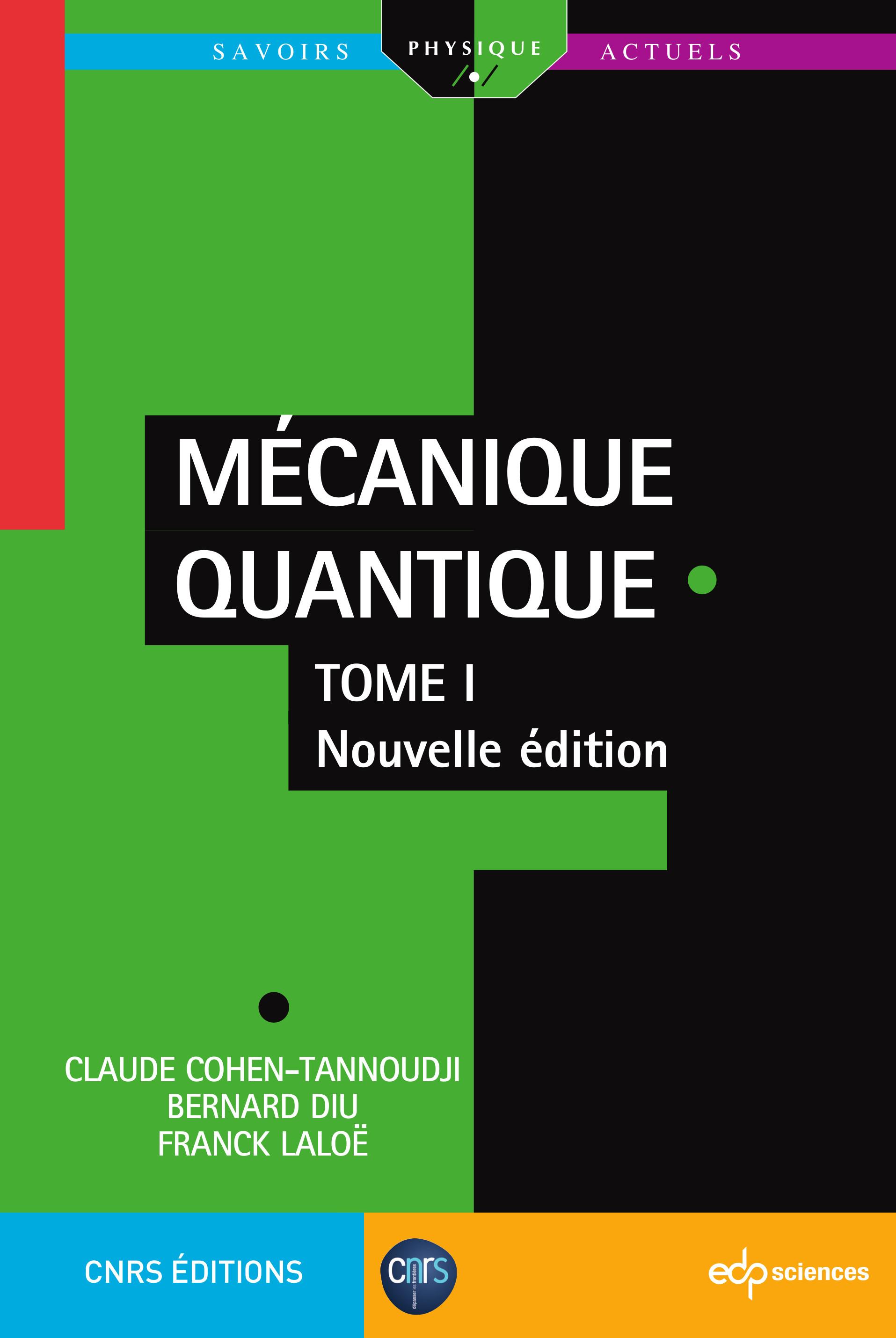 mécanique quantique cohen tannoudji pdf