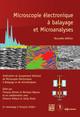 Microscopie électronique à balayage et Microanalyses   - GN-MEBA