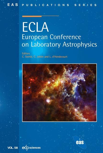 ECLA: European Conference on Laboratory Astrophysics -  - EDP Sciences